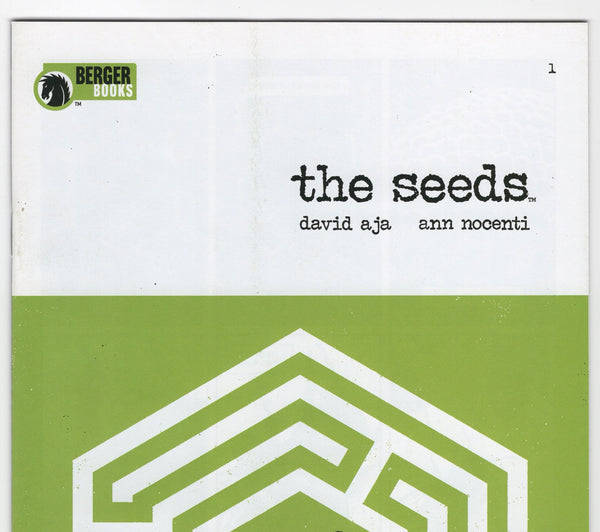 The Seeds #1 NM - Rediscover Geek