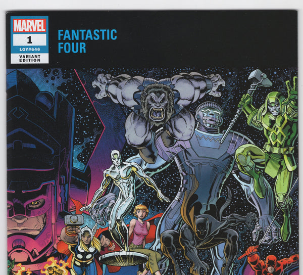 Fantastic Four #1 (6th Series, 2018) Art Adams - NM- - Rediscover Geek