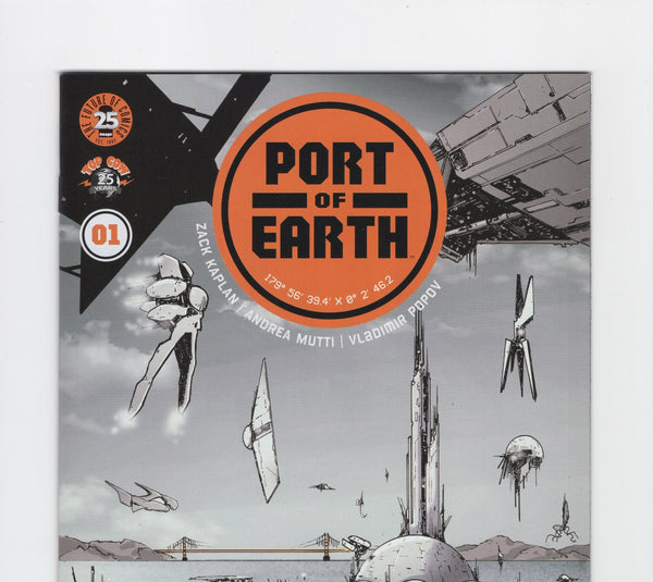 Port of Earth #1 NM - Rediscover Geek