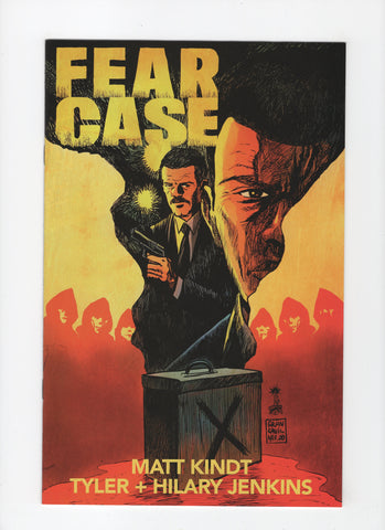 Fear Case #1 - Francesco Francavilla Variant - NM