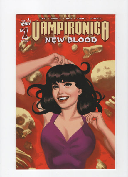 Vampironica: New Blood #1 - Smallwood Variant - NM - Rediscover Geek