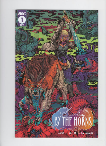 By the Horns #1 - Maria Lopez Variant - NM