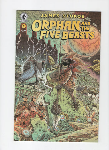 Orphan and the Five Beasts #1 NM