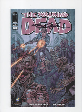 Walking Dead #1 Wizard World NYC Variant - Signed Neal Adams - NM-