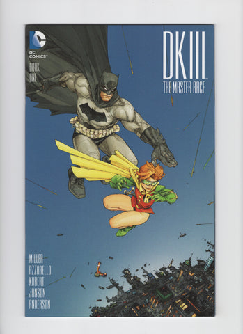 Dark Knight III: Master Race #1 - Comic Con Box Color Variant - VF/NM