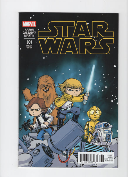 Star Wars #1 (Marvel, 1st Series 2015) Skottie Young Variant - VF/NM