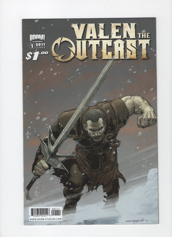 Valen the Outcast #1 - Cover B - VF+