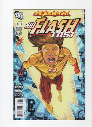 Flashpoint: Kid Flash Lost #1 VF+