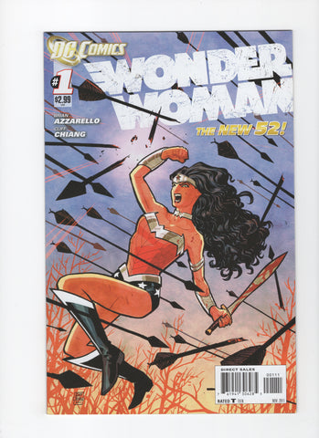 Wonder Woman #1 (4th, Series) New 52 - VF+