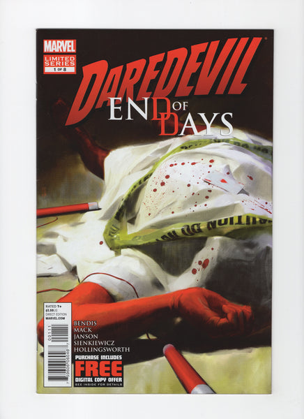 Daredevil: End of Days #1 VF+