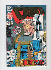Cable #1 - Gold Foil Cover - VF-
