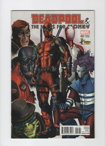 Deadpool & The Mercs For Money #1 - Comic Con Box Color Variant - VF