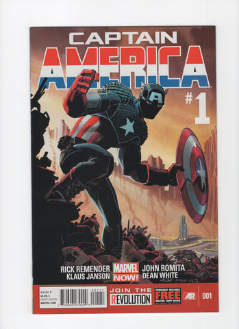 Captain America #1 (7th Series, 2013) VF+