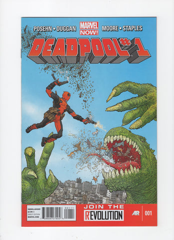 Deadpool #1 (3rd Series, 2012) VF+