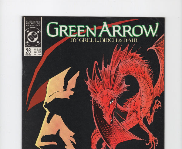 Green Arrow #26 (DC, 1987) FN+