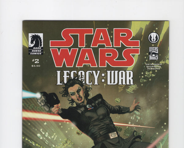 Star Wars: Legacy - War #2 NM-