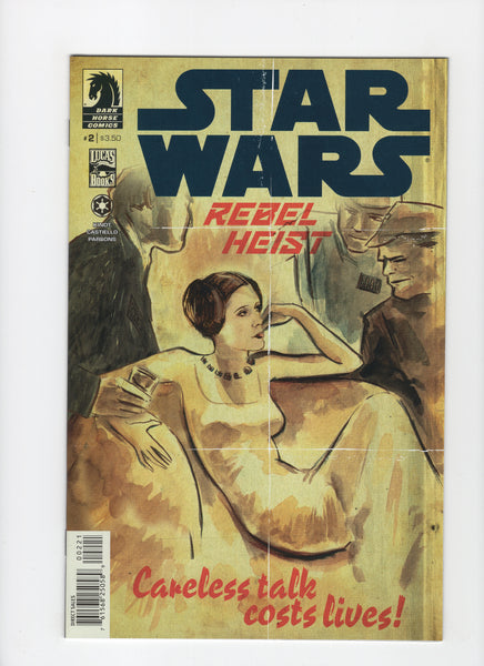 Star Wars: Rebel Heist #2 - Matt Kindt Cover - NM-
