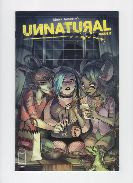 Unnatural #2 NM-