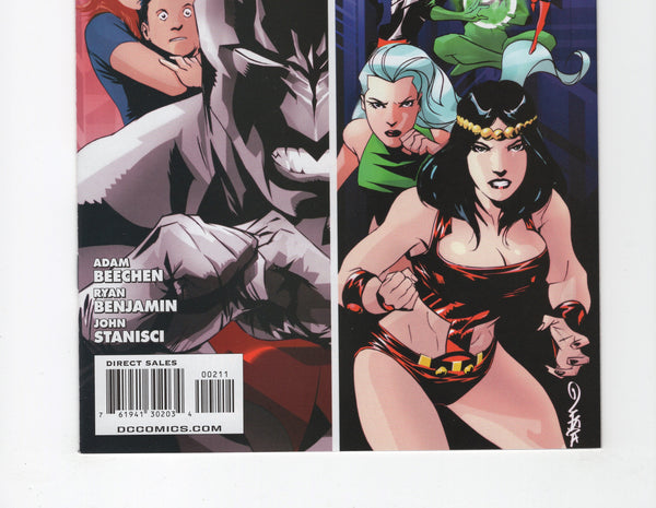 Batman Beyond #2 VF (4th Series, 2011)