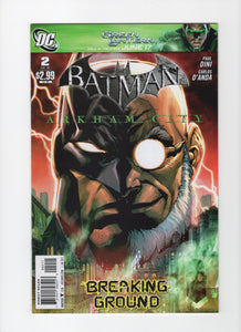 Batman: Arkham City #2 VF