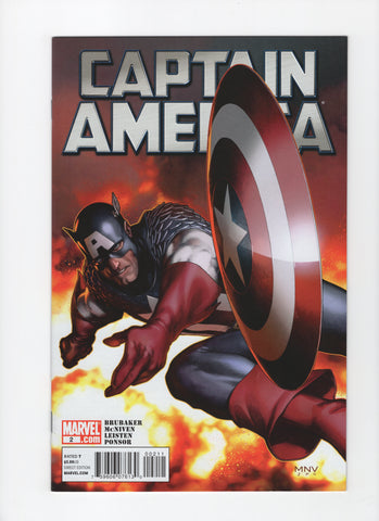 Captain America #2 (6th Series, 2011) VF+