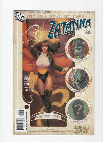 Zatanna #2 (2nd Series, 2010) VF+