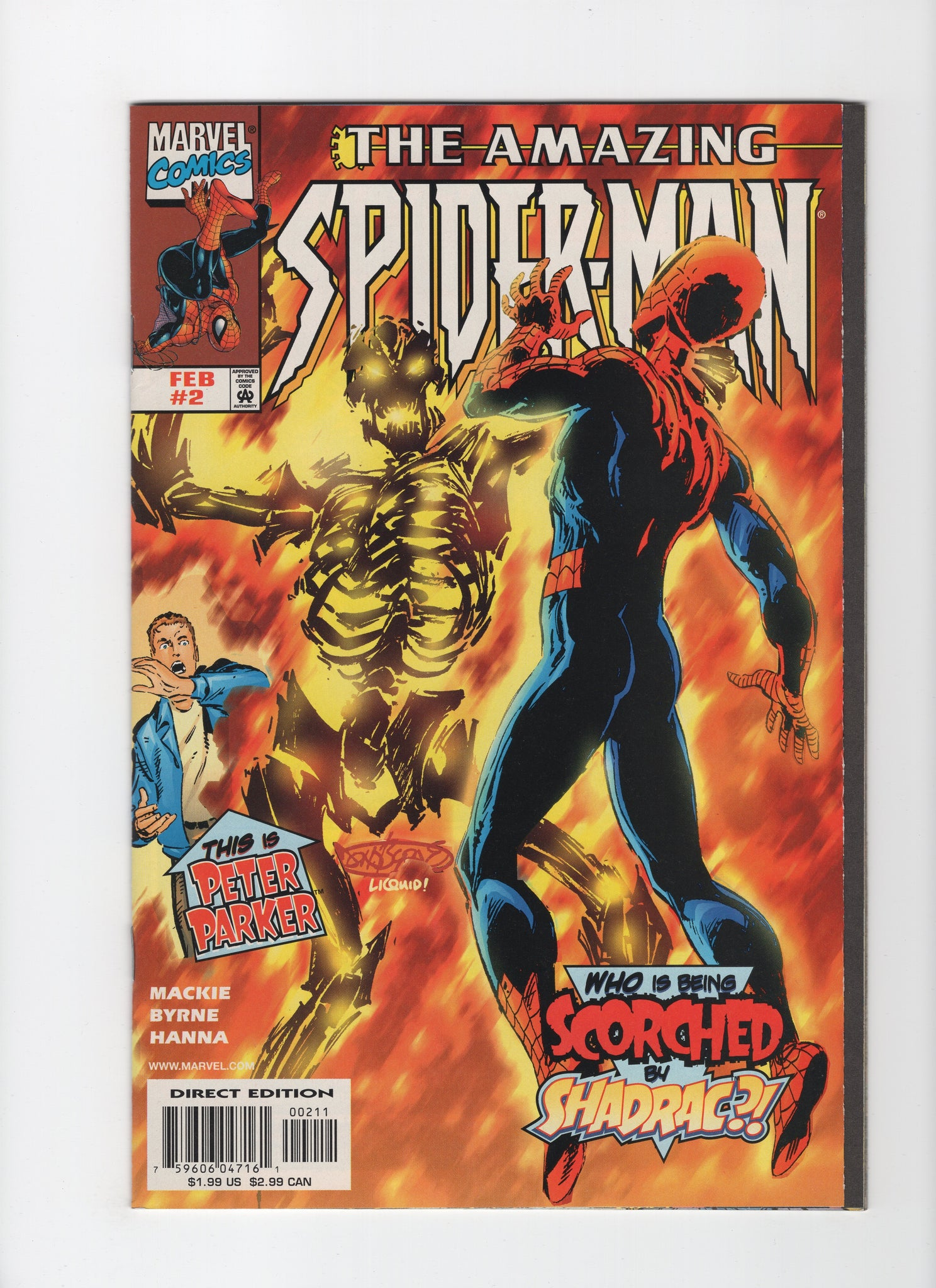 Amazing Spider-Man #2 (2nd Series, 1998) FN/VF
