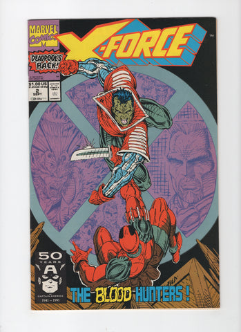 X-Force #2 FN/VF