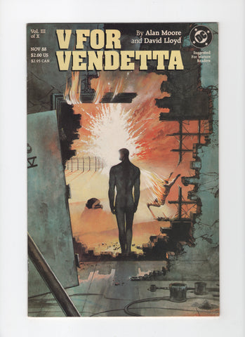 V for Vendetta #3 FN