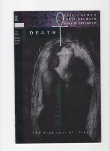 Death: The High Cost of Living #3 FN+