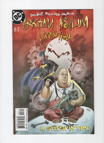 Arkham Asylum: Living Hell #3 VF/NM