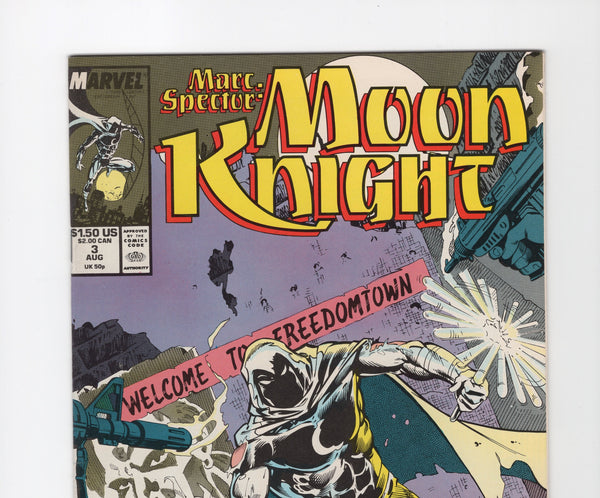 Marc Spector: Moon Knight #3 VF