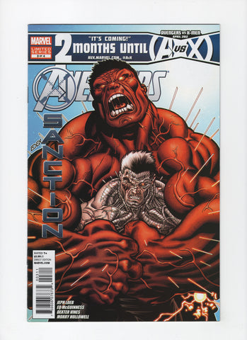 Avengers: X-Sanction #3 VF+