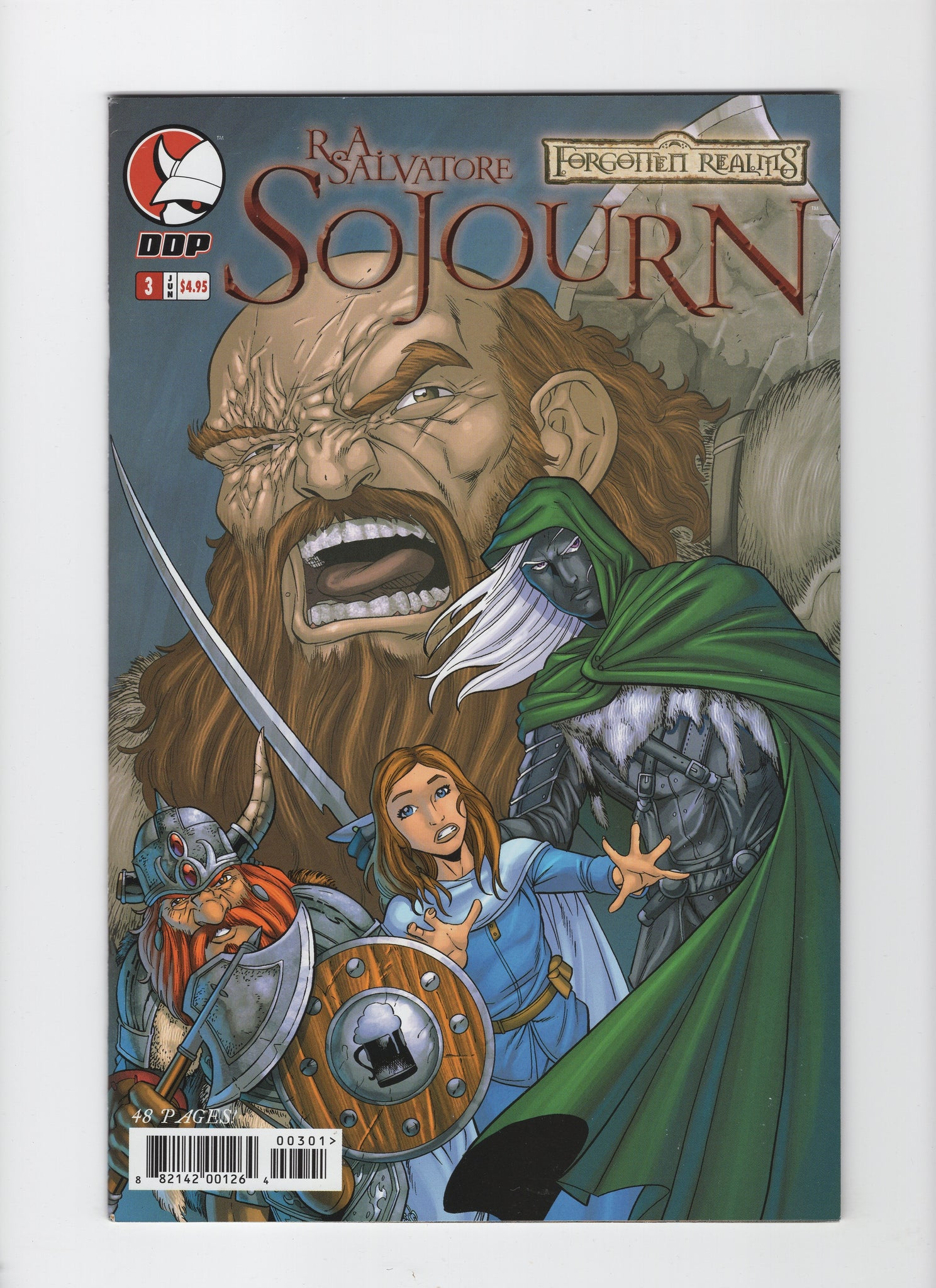 Forgotten Realms: Sojourn #3 VF