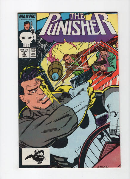 Punisher #3 (2nd Series, 1987) VF-