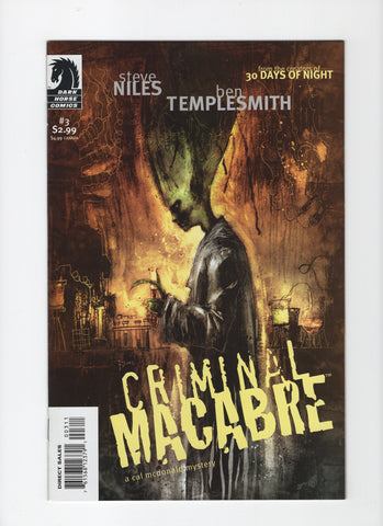 Criminal Macabre: The Cal McDonald Mystery #3 VF+
