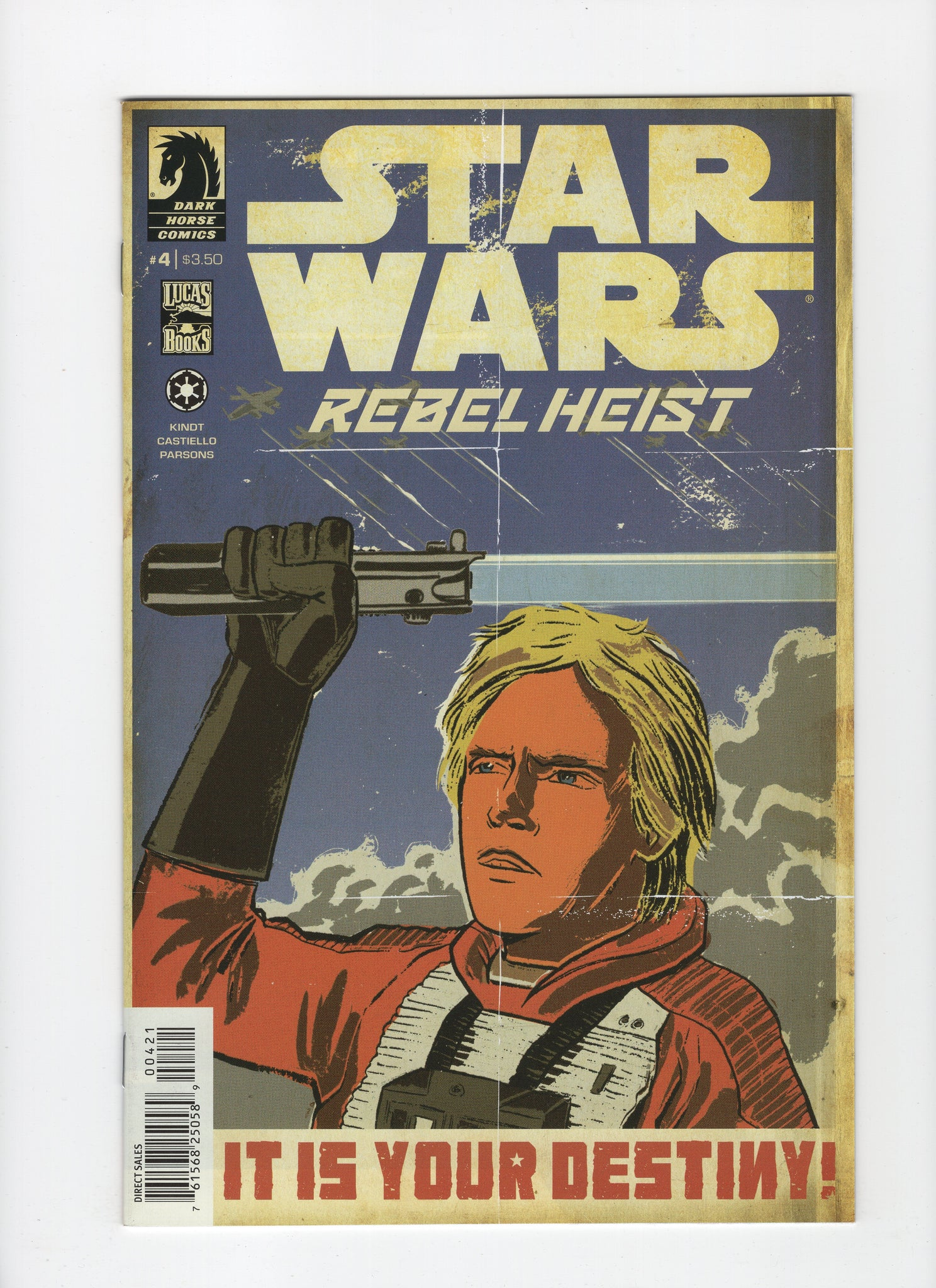 Star Wars: Rebel Heist #4 - Matt Kindt Cover - NM-