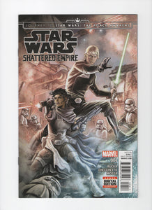 Journey to Star Wars The Force Awakens: Shattered Empire #4 VF/NM