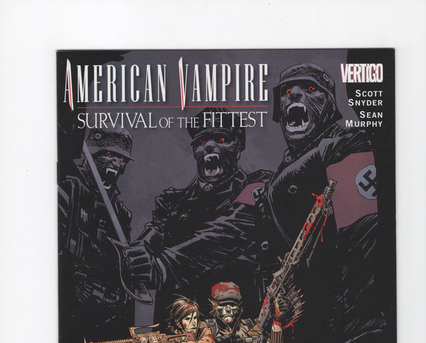 American Vampire: Survival of the Fittest #4 VF