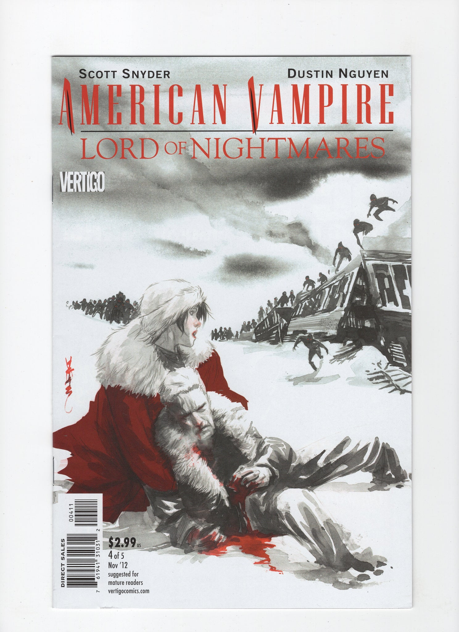 American Vampire: Lord of Nightmares #4 VF-