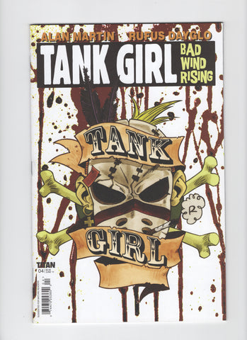 Tank Girl Bad Wind Rising #4 VF-