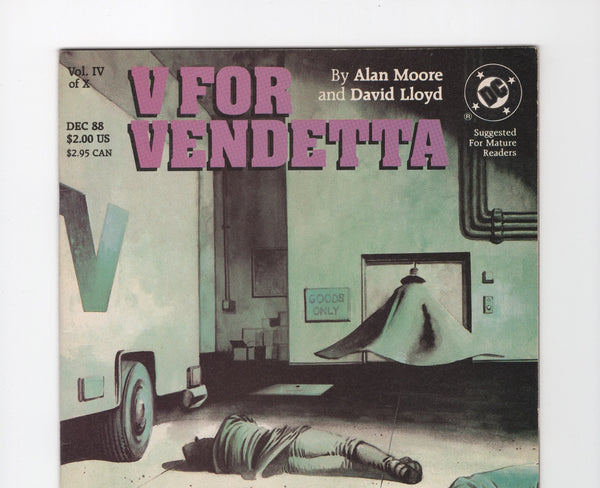 V for Vendetta #4 VG+