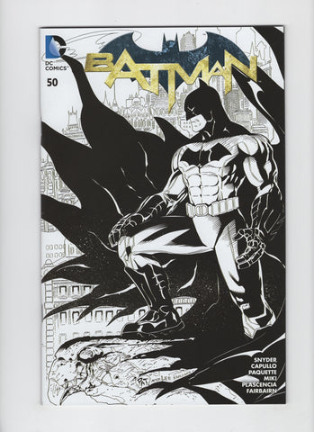 Batman #50 (2nd Series, 2011) Comic Con Box B/W Variant - VF+