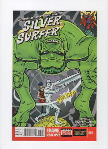Silver Surfer #5 (5th Series, 2014) NM-