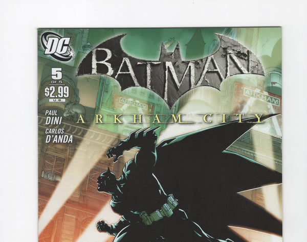 Batman: Arkham City #5 VF-
