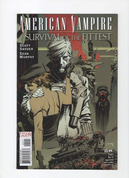 American Vampire: Survival of the Fittest #5 VF