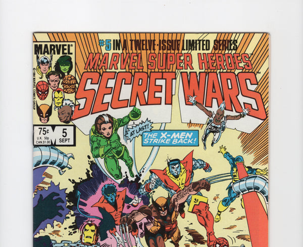 Marvel Super Heroes Secret Wars #5 VF