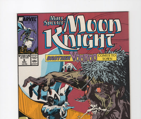 Marc Spector: Moon Knight #6 FN/VF