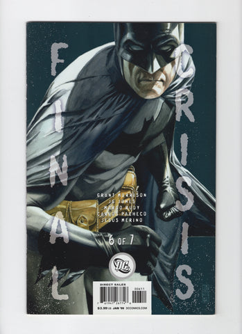 Final Crisis #6 (2008, DC) Cover B - FN+