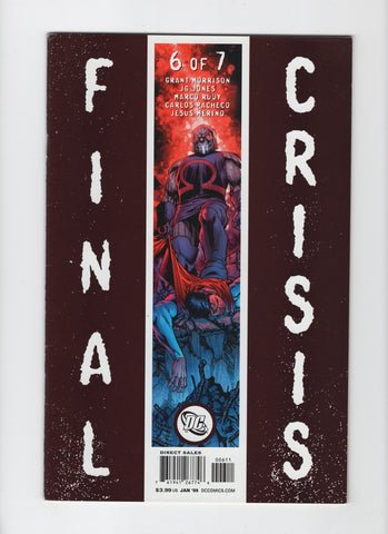 Final Crisis #6 (2008, DC) Cover A - FN